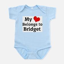 My Heart: Bridget Infant Creeper