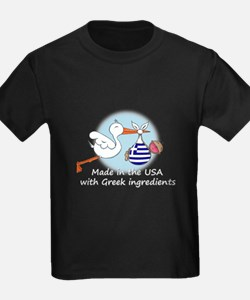 Stork Baby Greece USA T