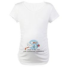 Stork Baby Guatemala USA Shirt