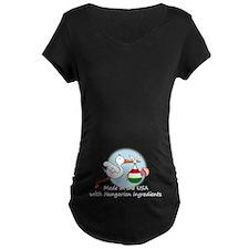 Stork Baby Hungary USA T-Shirt