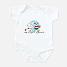 Stork Baby Hungary USA Onesie