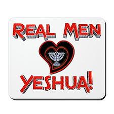 Real Men 2! Mousepad