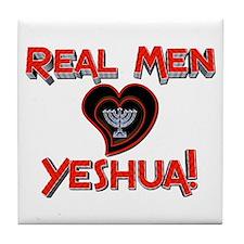 Real Men 2! Tile Coaster