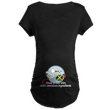Stork Baby Jamaica USA T-Shirt