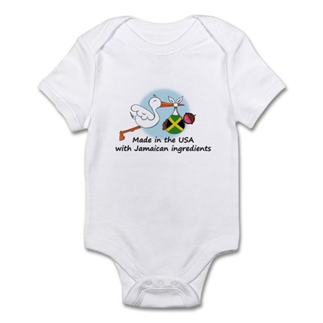 Stork Baby Jamaica USA Infant Bodysuit