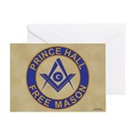 Prince Hall Mason Greeting Card