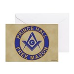 Prince Hall Mason Greeting Cards (Pk of 10)