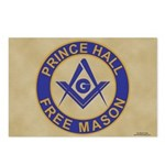 Prince Hall Mason Postcards (Package of 8)