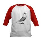 Turbiteen Pigeon Kids Baseball Jersey