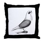 Turbiteen Pigeon Throw Pillow