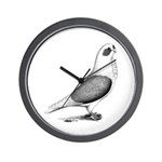 Turbiteen Pigeon Wall Clock