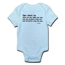 'You Are What You Eat' Infant Bodysuit