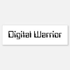 Digital Warrior Sticker (Bumper)