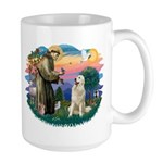 St. Fran #2/ Great Pyrenees #1 Large Mug