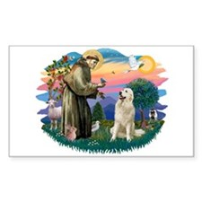 St. Fran #2/ Great Pyrenees #1 Decal