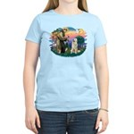 St. Fran #2/ Great Pyrenees #1 Women's Light T-Shi