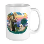 St. Fran #2/ Great Pyrenees (#2) Large Mug