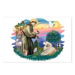 St. Fran #2/ Great Pyrenees (#2) Postcards (Packag