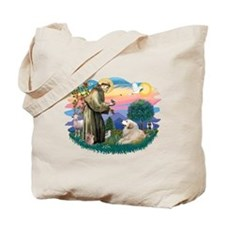 St. Fran #2/ Great Pyrenees (#2) Tote Bag