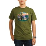 St. Fran #2/ Great Pyrenees (#2) Organic Men's T-S