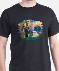 St. Fran #2/ Great Pyrenees (#2) T-Shirt