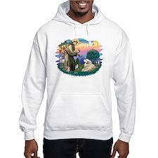 St. Fran #2/ Great Pyrenees (#2) Hoodie Sweatshirt