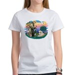 St. Fran #2/ Great Pyrenees (#2) Women's T-Shirt