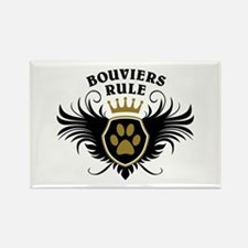 Bouviers Rule Rectangle Magnet (100 pack)