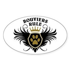 Bouviers Rule Decal