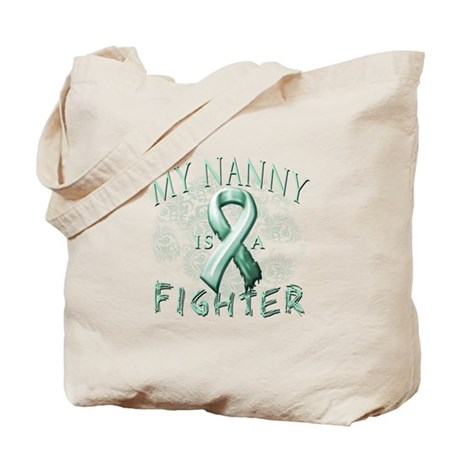 My Nanny Is A Fighter Tote Bag
