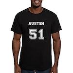 Team Lost #51 Austen Men's Fitted T-Shirt (dark)