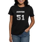 Team Lost #51 Austen Women's Dark T-Shirt