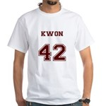 Team Lost #42 Kwon White T-Shirt