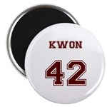 Team Lost #42 Kwon Magnet