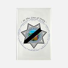 San Diego Law Enforcement Mem Rectangle Magnet