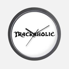 Trackaholic Wall Clock