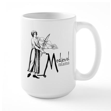 Medieval Mama II Large Mug