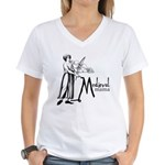 Medieval Mama II Women's V-Neck T-Shirt