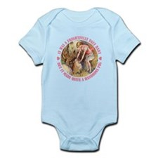 A FRIGHTFULLY UGLY BABY Infant Bodysuit
