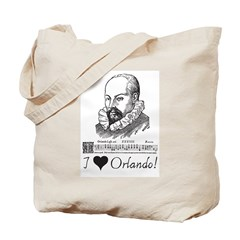 I Love Orlando Tote Bag