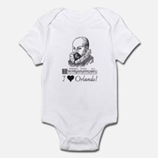 I Love Orlando Infant Bodysuit