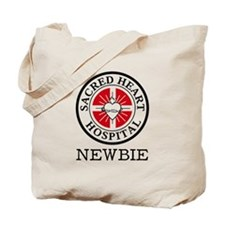 'Sacred Heart Newbie' Tote Bag