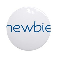 Newbie (Scrubs) Ornament (Round)
