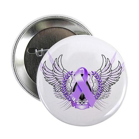 "Awareness Tribal Purple 2.25"" Button"