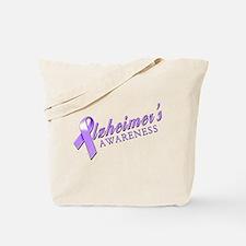 Alzheimer's Awareness Tote Bag