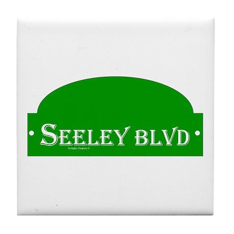 Seeley BLVD Tile Coaster