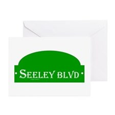 Seeley BLVD Greeting Cards (Pk of 10)
