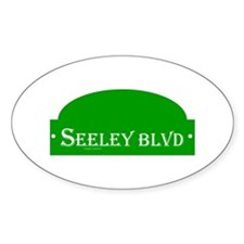 Seeley BLVD Decal