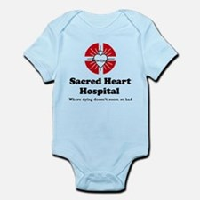 'Sacred Heart Hospital' Infant Bodysuit