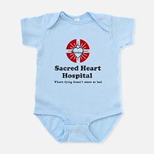 'Sacred Heart Hospital' Onesie